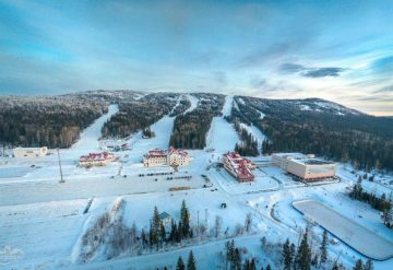 SRC as a part of the mountain skiing complex «Gora Belaya»