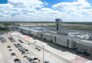 Improvement of the landside area of the airport «Koltsovo», Ekatherinburg