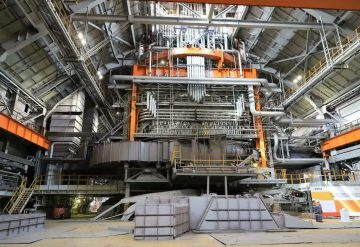The complex of the blast furnace №6 for JSC «NTMK»