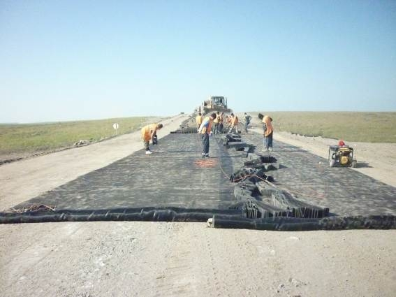 Construction of the pipeline service road KS Vorkutinskaya – KS Yarynskaya